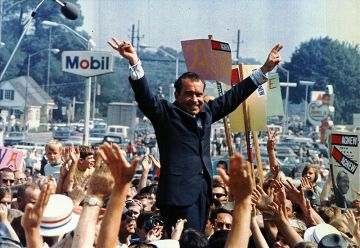 Richard Nixon, elected on Mercury Retrograde (Wikimedia)